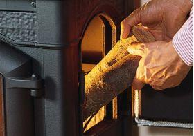Kaminska peč na drva Isetta Con Cerchi 7 kW