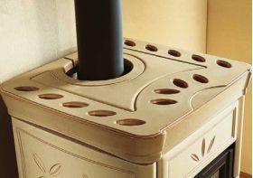 Kaminska peč na drva Nicoletta 8 kW