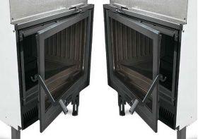 Kaminski vložek na drva Focolare 70 Piano 9 kW