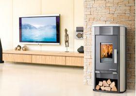 Kaminska peč na drva Javus-RLU 203.14-C, 2 - 4 kW , za nizkoenergijske in pasivne hiše