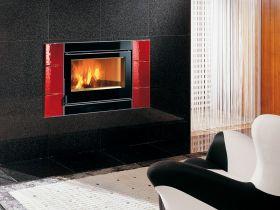 Kaminski vložek na drva Inserto 80 Crystal Ventilato Evo, 9 kW