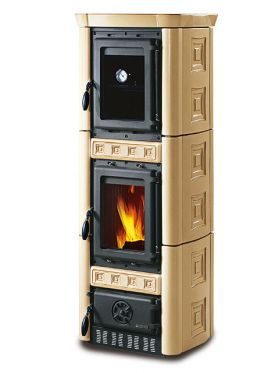 Kaminska peč na drva Gaia Forno 6 kW