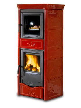 Kaminska peč na drva Nicoletta Forno EVO 9,1 kW