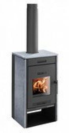 Kaminska peč na dva Pico 286.12-ST, 2.5 - 5 kW